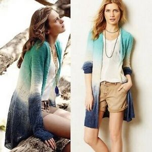 Anthropologie Moth | ombre cardigan